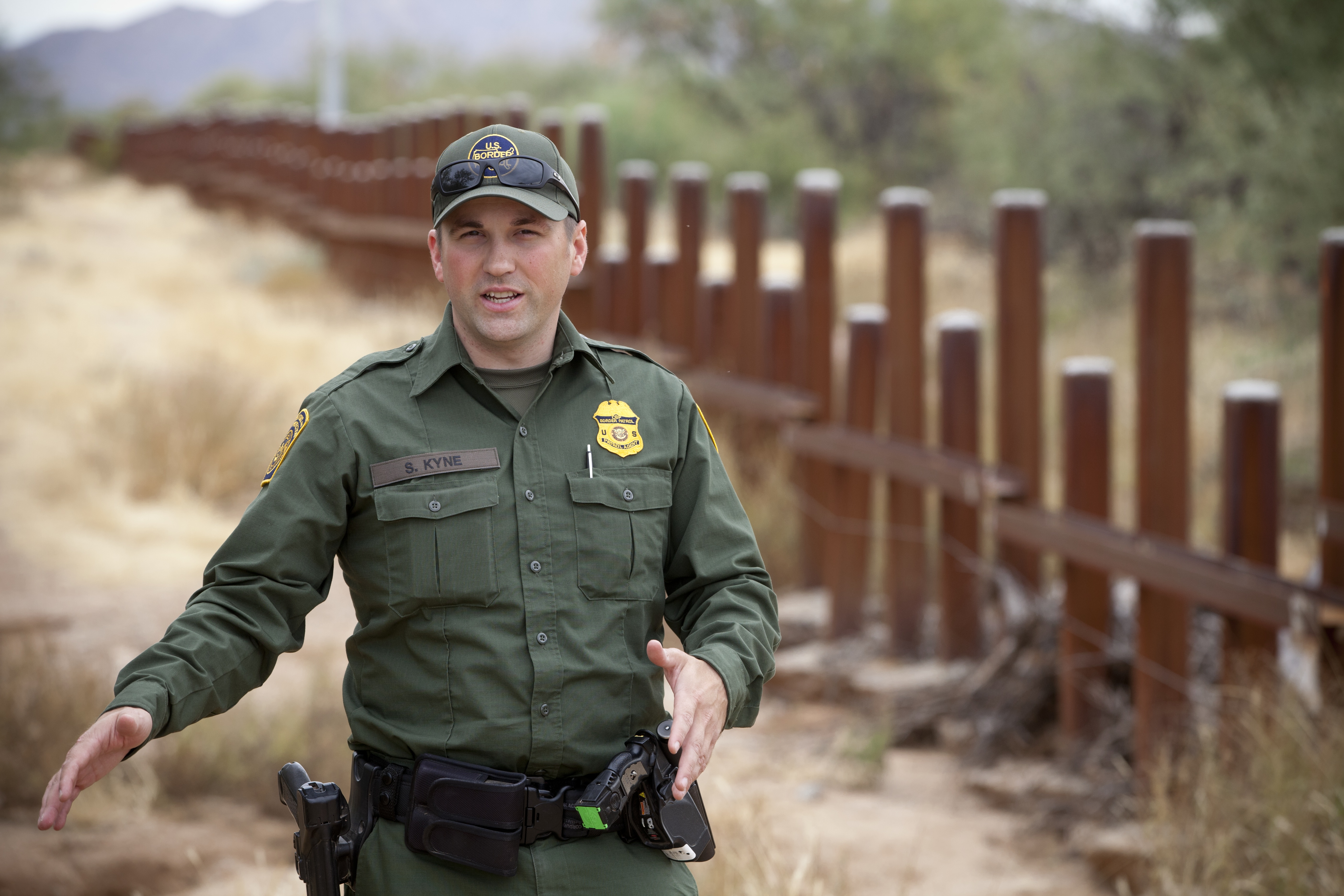 border patrol agent job description