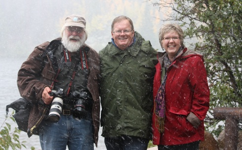 Jim Pat Carole snow 8945